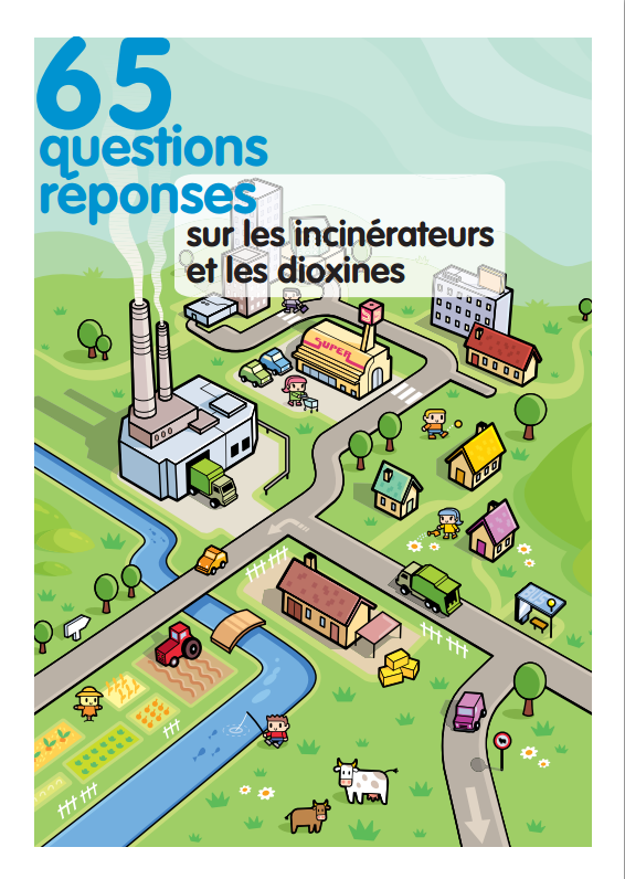 Informations sur les incinérateurs et les dioxines (air extérieur, alimentation, cancer, déchet ménager, dépollution, dioxine, pcb, pollution atmosphérique)