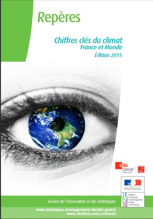 Chiffres clés du climat France et Monde 2015