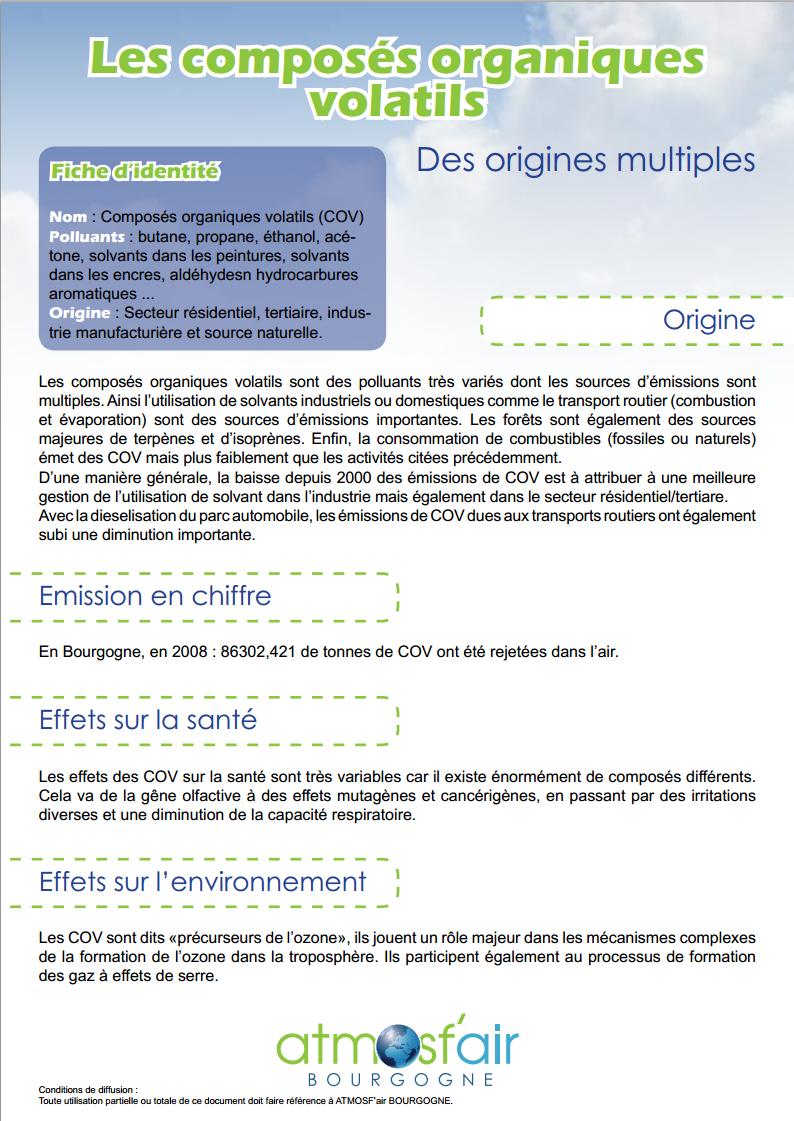 Air intérieur, Cancer, COV (Composé organique volatil), Maladie respiratoire, Solvant