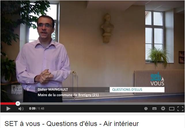 air intérieur, politique et réglementation