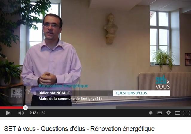 rénovation énergétique, politique et réglementation