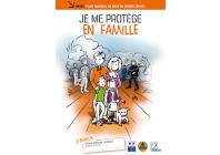 """Ce guide vous aide à organiser votre autonomie durant la phase critique, en élaborant votre plan familial de mise en sûreté (PFMS).Guide """"je me protège en famille"""""""
