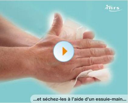 lavage des mains, risque professionnel, risque biologique