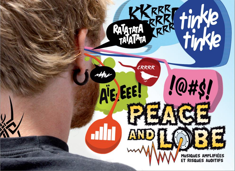 bruit, risque auditif, musiques amplifiées