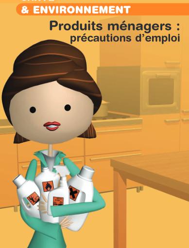 Produits ménagers, substances chimiques, précautions d'emploi pour éviter les dangers