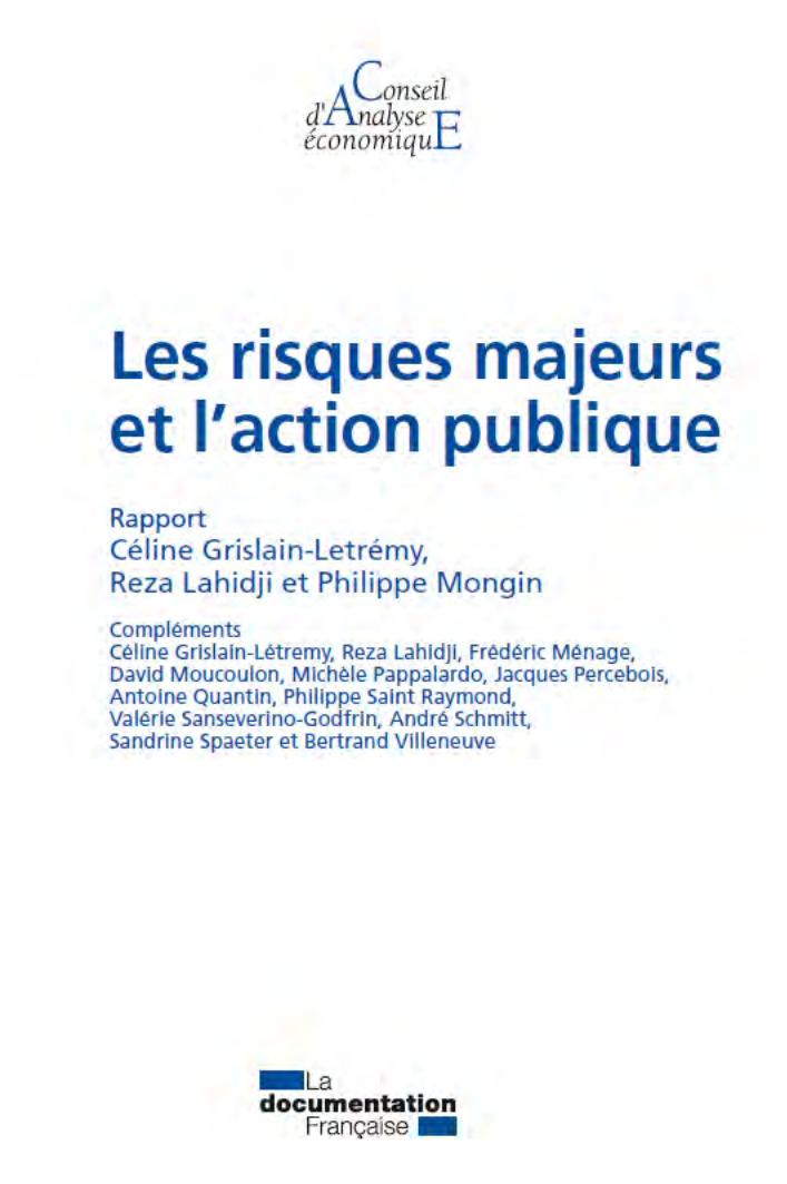 risque majeur, risque naturel, risque technologique, politique et réglementation