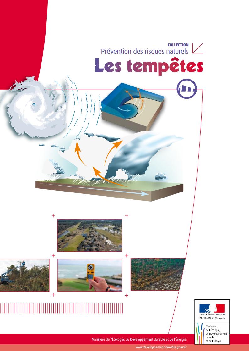 dossier d'information sur les risques de tempêtes ou de tornades en France ainsi que les actions de prévention et de secours